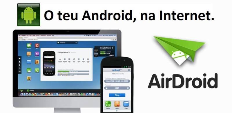 AirDroid: O teu Android na Web