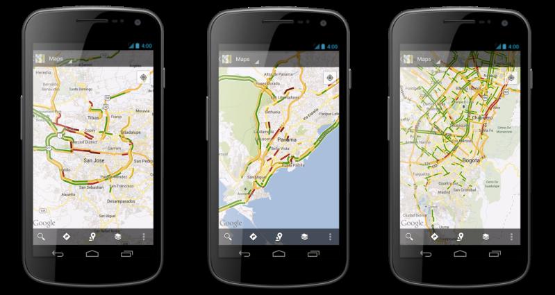 Mobile-Traffic-Screenshots